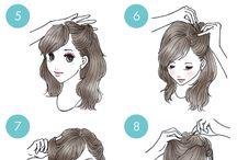 ilustration hair do