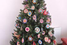 Arbol de Navidad / Mandalas para árbol de navidad.