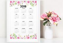 calendario DIY 2018