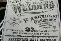 A circus themed wedding