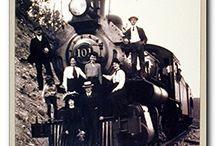 Vintage Train Art Posters