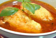 supa de pui cu roși