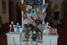 Local market LEVOČA, EU, Slovakia.Booth presentation / permanent craft fair in my town