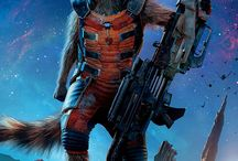GotG R0CKET RAC00N!!!! / My favorite of all the Guardians also deserved his own board!