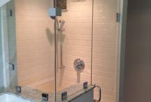 Shower Door / Tub Enclosure Ideas / A collection of shower door ideas - Glassworks can create your custom shower or tub enclosure  / by Glassworks Vermont