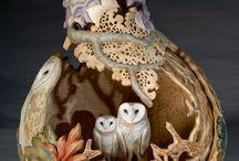 Gourd art / by Carla Van Galen