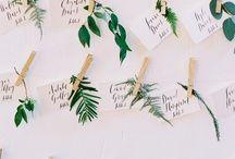Escort + Name Cards / Unique Wedding & Event Escort Name Cards