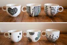 Pintar con cerámica
