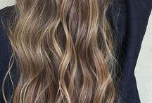reflejos en el pelo