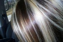 Hiukset+meikki
