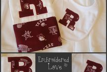 Custom Baby Gifts / Baby Gifts I love to make! / by Martha Cavazos Fipps