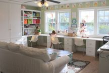 ideal sewing room
