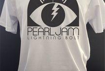 camisas de grupos de rock