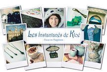 On the blog ! / Photos illustrant les articles sur le blog Les instantanés de Kloé.