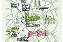 illustrated maps-belgium