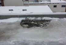 Roof Ice Dam Removal Edmonton
