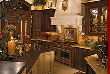 Kitchens / Kitchen decorating ideas / by Diana Atkinson