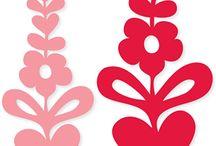 filigrán tavaszi minták
