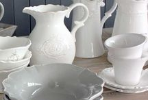 Elegant Dining / Dress your dining table to impress with our new, vintage inspired Ceramics collection.  www.lotsofliving.co.uk