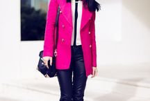 Bright Winter / Bright Winter colours in clothing