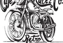 Vintage motorky