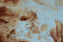 Dessin au lavis, de Jean-Joseph Chevalier / Découvrez les lavis de Jean-Joseph Chevalier.  Le lavis est obtenu avec de l'encre plus ou moins diluée appliquée au pinceau. Le lavis est généralement utilisé en association avec des dessins à la plume. Parfois, on choisit simplement de renforcer légèrement les ombres, d'autres fois le pinceau ajoute des détails dans les parties sombres. Le lavis peut aussi apporter au dessin de nouvelles qualités lumineuses et chromatiques. http://www.jeanjosephchevalier.fr/pages/dessin/dessin-au-lavis.html