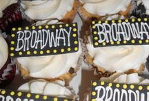 Broadway party / Broadway or drama themed sweet 16, graduation or birthday!