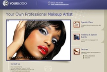 Website Deals for Makeup Artists / Professional Websites for Makeup Artists. Web Start Today helps you create a great impression on your prospects and customers with professional websites designed specifically for Makeup Artists. Our easy to use Website Builder allows you to build a well-constructed, effective online presence in no time at all. / by Web Start Today, Inc.