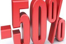 SALDI 50% / Da oggi SALDI al 50% su tutta la collezione invernale! Ti aspettiamo in negozio ;)