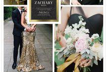 Palette nozze: oro / Golden wedding / Ispirazioni per il matrimonio in oro Golden wedding ideas