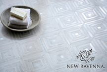 B R Y C E / Bryce is part of the Parterre Collection designed by Sara Baldwin and Paul Schatz. The eighteen designs in this collection are handcrafted in natural stone, Serenity glass, shell, ceramic, and aluminum and are available in different material combinations. www.newravenna.com.  / by New Ravenna