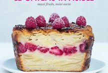 Gâteaux invisibles / Recettes de gâteaux invisibles : des gâteaux composés essentiellement de fines lamelles de fruits ou de légumes, qui absorbent une pâte rendue presque invisible...  Invisible cakes recipes