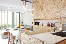 Architecture / Intérieur bois /