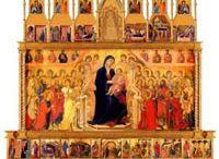 Między gotykiem, a renesansem / Kanon dzieł sztuki