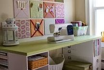 Sewing Room Ideas / by Teresa Jensen