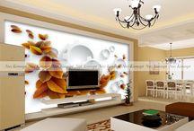 3D manzara modelli duvar kağıtları