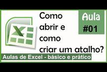 Excel - Aulas para aprender de modo rápido o básico da ferramenta.