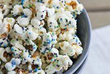 Popcorn Recipes / Sweet & Savory Popcorn Recipes