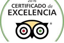 Certificado de Excelencia / ¡Estamos orgullosos de anunciar que hemos recibido un #CertificadodeExcelencia de @TripAdvisor para 2016! ¡Gracias a todos nuestros clientes por opinar sobre nosotros!