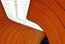 Subway stations / interior design / lighting