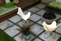 Outdoor spaces / Small tranquil courtyard