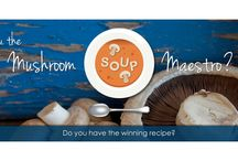 Mushroom Soup Maestro Competition / The chilly weather is the perfect time for creativity in the kitchen. So bring out the soup bowls, tureens, pots and your secret ingredients and enter the Mushroom Soup Maestro challenge: Create the ultimate mushroom soup recipe, share it with us and stand a chance of winning Jamie Oliver Pots to the value of R4 000.