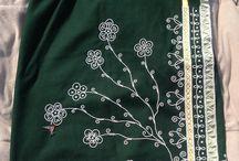 Ribbon/Beaded Skirt