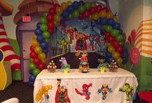 Marvel Super Hero Squad Party Ideas