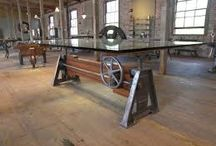 Industrial / Furniture with an industrial aesthetic