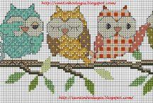 Cross Stitch - Bird & Co.