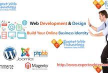 Web Development & Design Services / Web Development & Design Services : Build Your Online Business Identity: http://www.expertwebtechnology.com/
