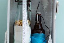 backmischung im Glas