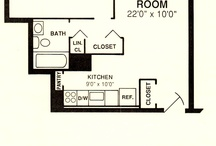 1 Bedroom Floorplans / All of our 1 bedroom apartments