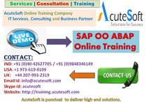 SAP OO ABAP Online training from Industry Experts-Acutesoft